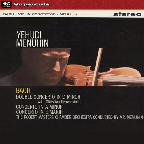 Bach Violin Concerti Menuhin