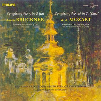 Bruckner & Mozart Symphony No. 5 & No. 36
