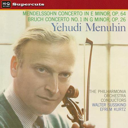 Mendelssohn & Bruch Violin Concertos  Menuhin