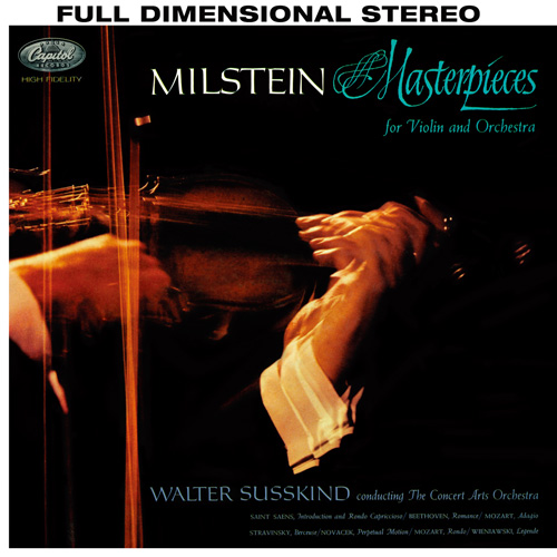 Nathan Milstein Masterpieces For Violin And Orchestra