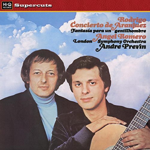 Rodrigo Concierto Di Aranjuez Romero Previn