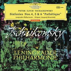 Tchaikovsky Sinfonies Nos. 4, 5 & 6 Mravinsky
