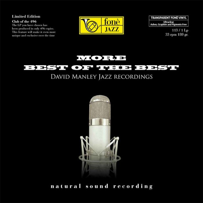 LP113 David Manley Jazz More Best Of The Best