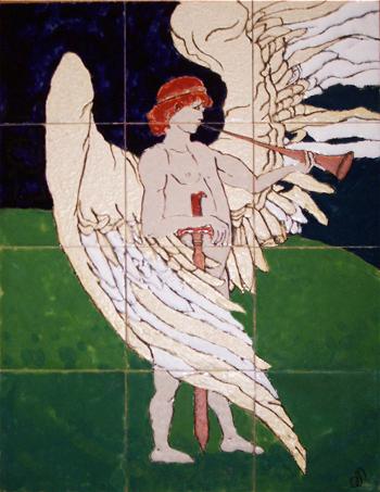 המלאך השומר על גן עדן
