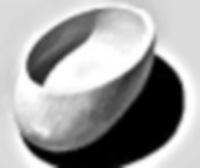 תמונת קערת נדבות עשויית עץ