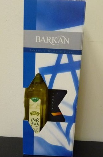 מארז יין קינוח, שמן זית ודגל ישראל