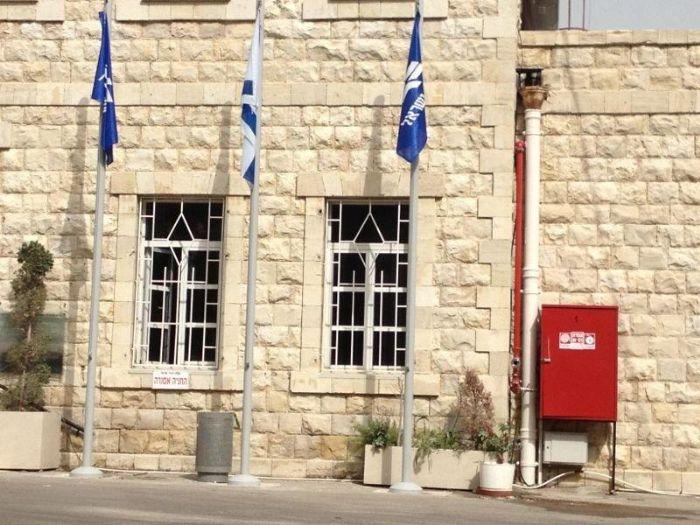 התקנת תרני 5 מ' רכבת ישראל בחיפה