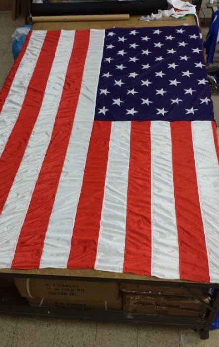 """דגל ארה""""ב לפי הזמנה"""