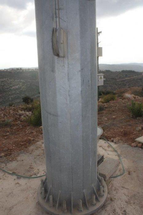 תורן פלדה קוני גובה 24 מטר