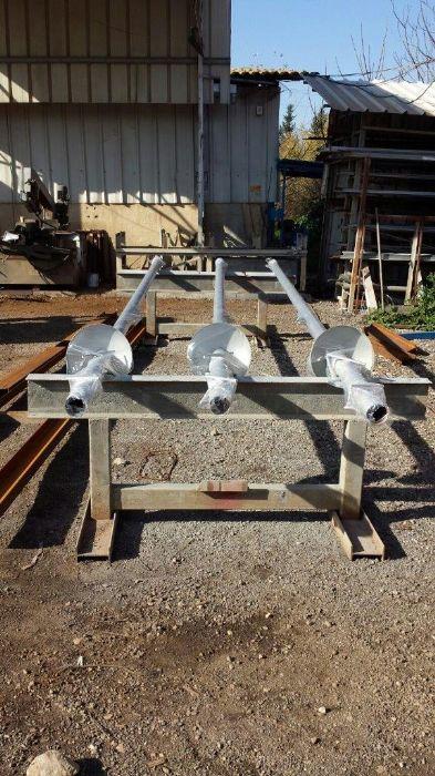 תרני פלדה אחידים גובה 5 מטר