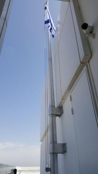 תורן אלומיניום קוני בגובה 7 מטר