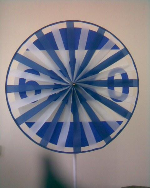 דגל ישראל שבשבת לכבוד שנת ה-60
