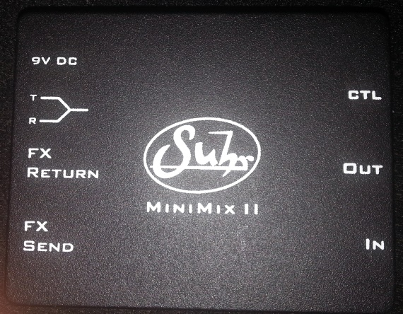 Suhr Minimix ii - מיקסר למגבר -יד 2