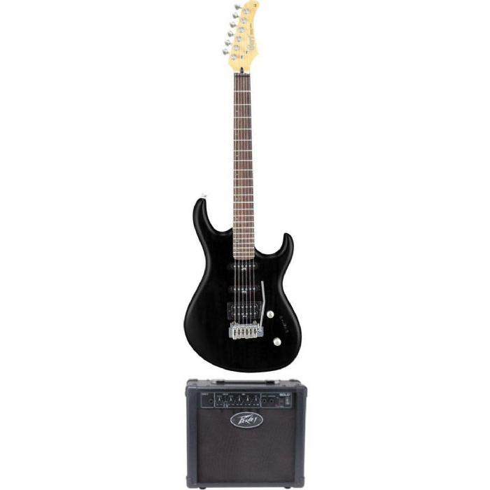 חבילת גיטרה  חשמלית+ מגבר 1