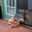 דלת  מעבר לחיות מחמד לרשת נגד יתושים כלב/חתול