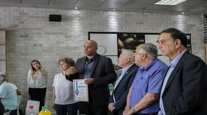 עמותת יחדיו זכתה לאות הוקרה והערכה מטעם ארגון ״צוות״