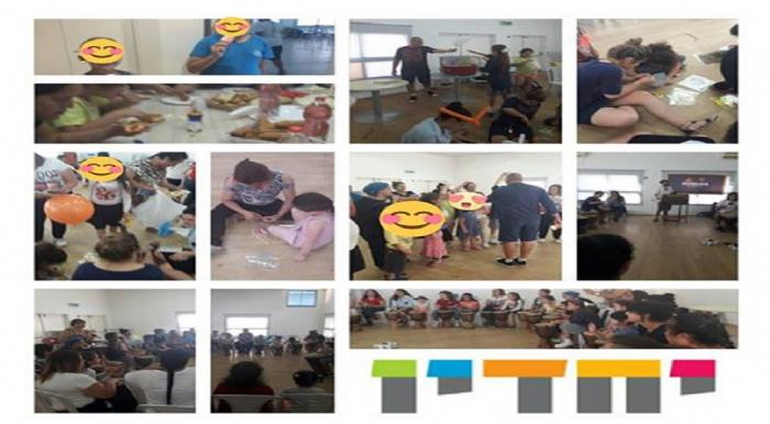 """ל""""ג בעומר עם משפחות המיזם בבאר שבע"""