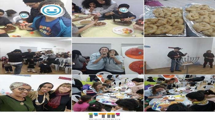 חגיגות חנוכה יחדיו במיזם המשותף לבני נוער והוריהם בבאר שבע