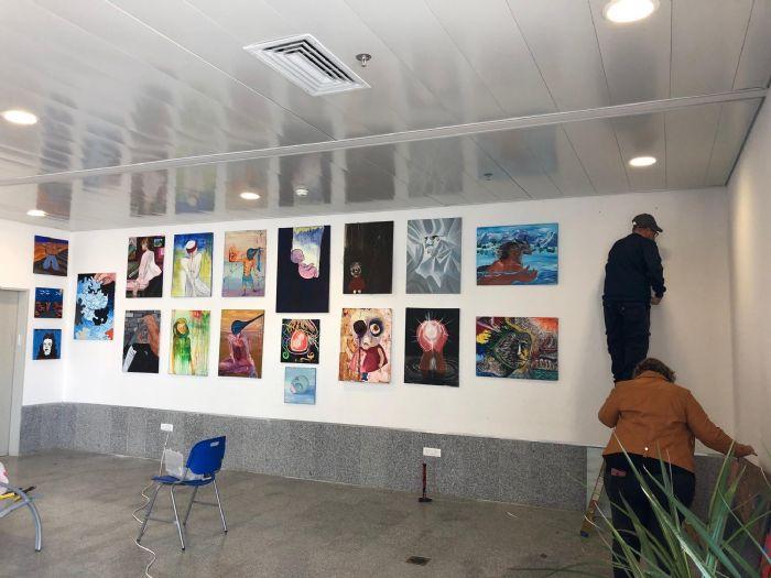 תערוכת רוח מדבר בביקור של הרמטכ''ל בעיר הבה''דים