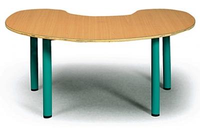 שולחן פרסה ל 6 ילדים