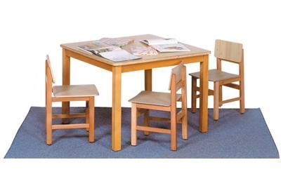 שולחן ספריה מעץ