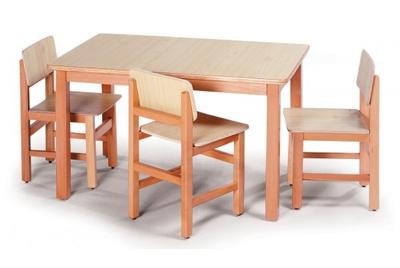 שולחן וכסאות בוק