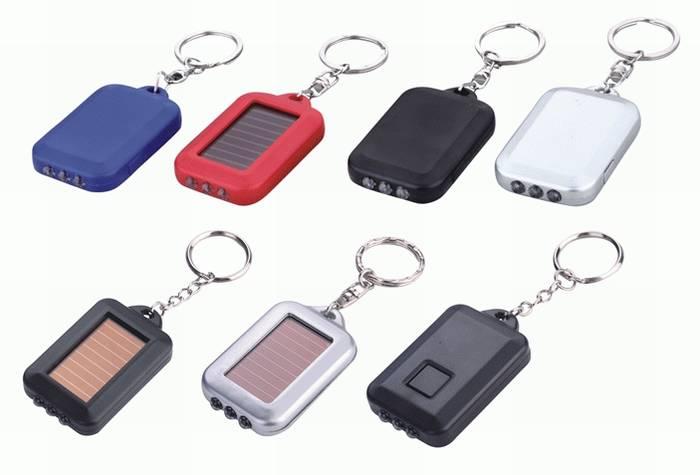 וסטה-מחזיק מפתחות סולארי 3 לדים