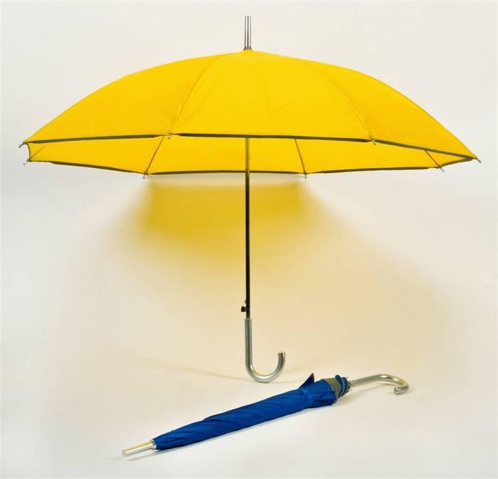 יורה-מטריה עם פס מחזיר אור