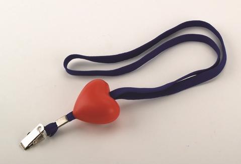 הארט-סרט צוואר לתג עובד עם לב