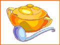 מרק שעועית רומני של סבתא של אושרת