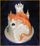 פיסול בסוכר: הדרקון וילי - Dragon cake