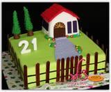 עוגת יום הולדת לסטודנטית להנדסת בניין - החבר המאוהב הזמין את העוגה לכבוד יום ההולדת ולהצעת נשואין!