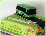 עוגת יום הולדת לנהג אגד שחגג יום הולדת 70