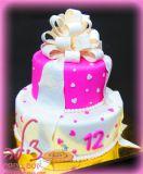 עוגת בת מצווה - Bat Mitzvah cake