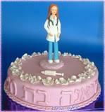 עוגה מיוחדת לדיאנה הלומדת רפואה