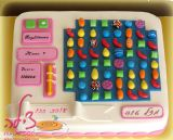 Candy crush cake - עוגת קאנדי קראש - עוגת יום הולדת לחברה אהובה