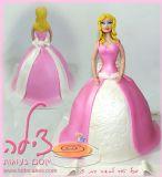 עוגת ברבי ליום הולדת של מאיה