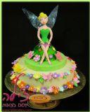 עוגת טינקרבל ליום הולדת של איה החמודה