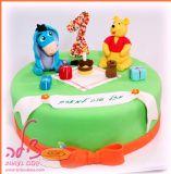 עוגת פו הדב עם חברו הטוב החמור איה