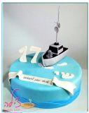 עוגת ספינה לשי בן ה-17