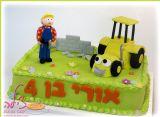 עוגת בוב הבנאי ליום הולדת של אורי החמוד