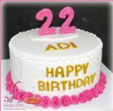 עדי חוגגת יום הולדת 22 עם עוגת וניל צרפתי במילוי קרם ריבת חלב