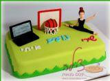 עוגת יום הולדת לשלושה חברים טובים