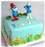 עוגת דרדסים ליום הולדת של יהלי