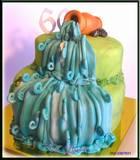 עוגת מפל מים