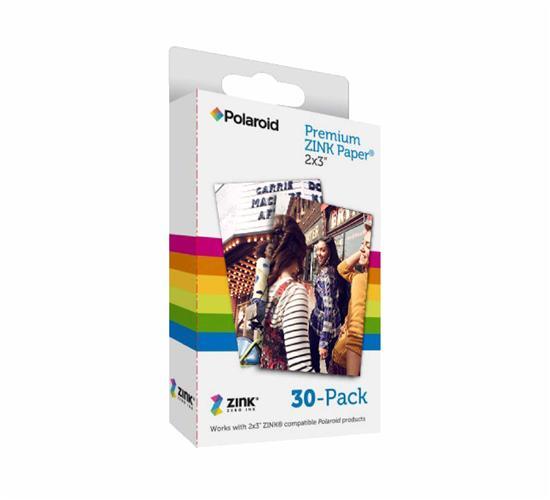 30 דפי הדפסה למדפסת ניידת Polaroid