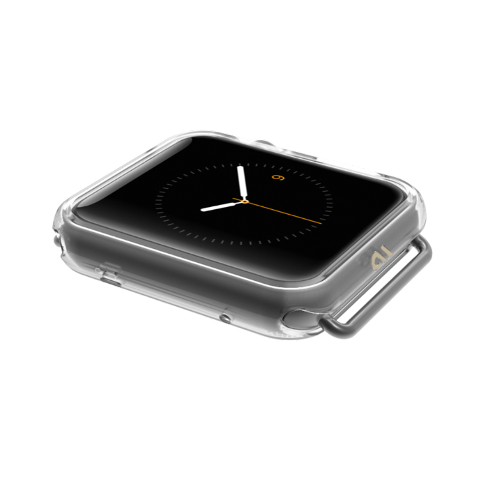 Case-Mate Clear Naked Tough Bumper for Apple Watch
