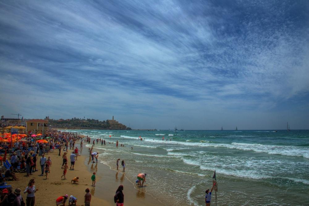 חוף תל אביב - תמונות בחינם ללקוחות Webfocus