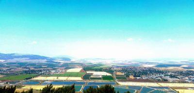 הנוף היפה ביותר בעולם -בדרך נוף הגלבוע