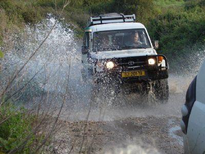 טיולי ג'יפים בצפון - ביערות אזור רמות מנשה